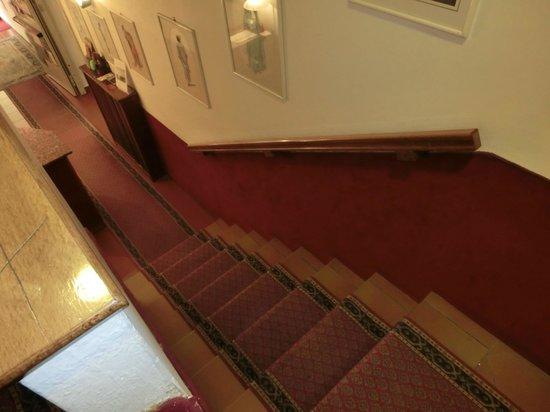 Reiter Hotel: 階段