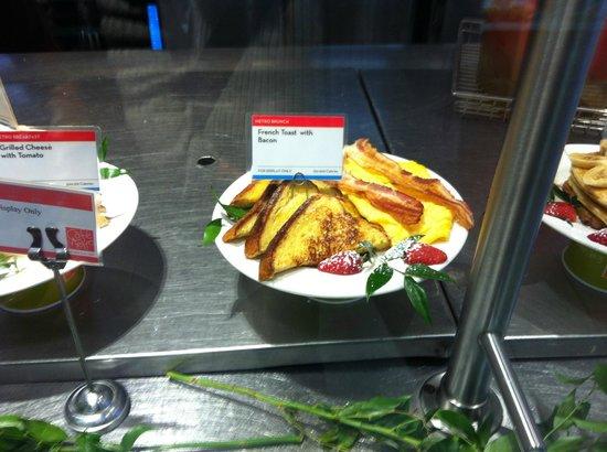 Cafe Metro: petit dejeuner