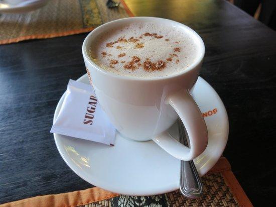 The Villa Siem Reap: Hot chocolate :)