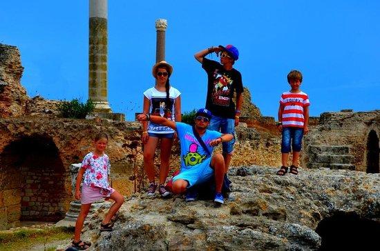 Ruines de Carthage : the ruins