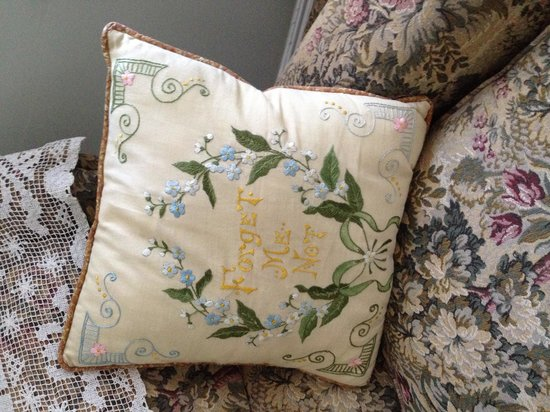 The Forget-Me-Not Bed and Breakfast: Comfy room chair