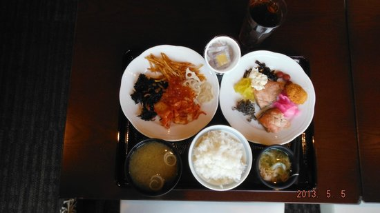 J Hotel Rinku: Something from the fantastic breakfast menu