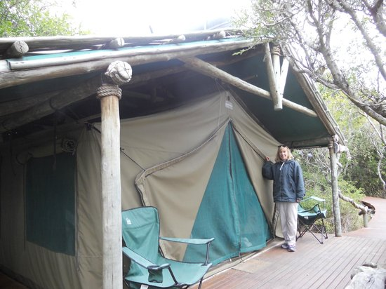 Sibuya Game Reserve & Tented Camp: Our tent and home for 4 days