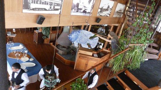 "Hotel Restaurant Cap Ducal: Im Inneren des ""Schiffes"""