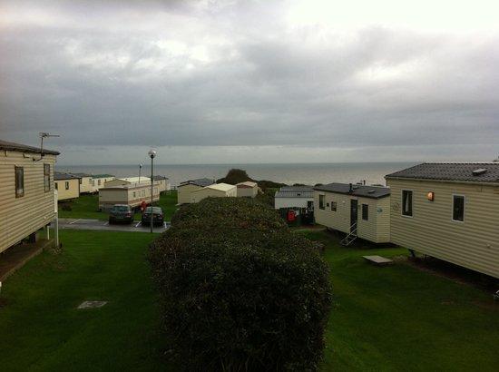 view  caravan  karos place picture  devon cliffs holiday park haven exmouth