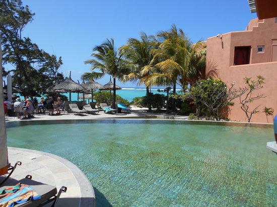 La Palmeraie Boutique Hotel : Pool Side