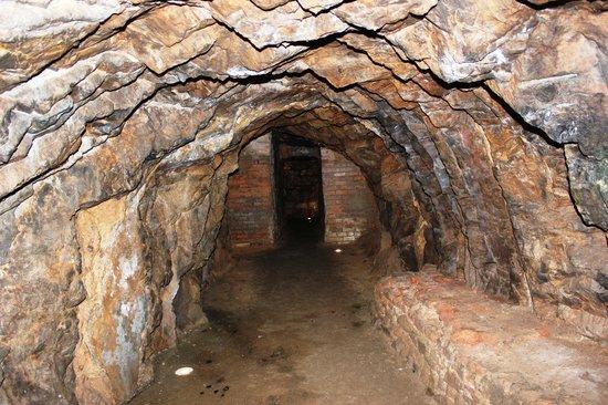 Parque Minero de Almaden : Interno Mina de Mercurio de Almadén