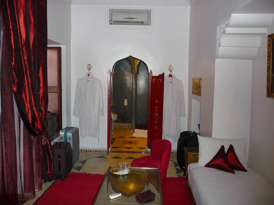 Riad Argan: Habitación
