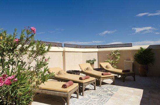 Riad Vert Marrakech: Toit terrasse