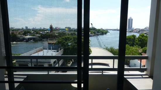 River View Guest House: View from inside room 738