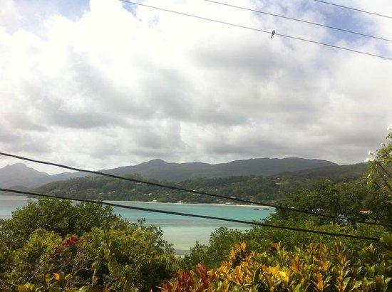 Vista di Anse La Mouche dalla Residence