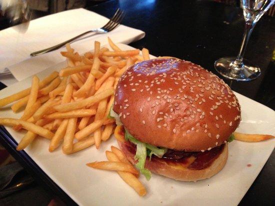 Le Zimmer : Le burger