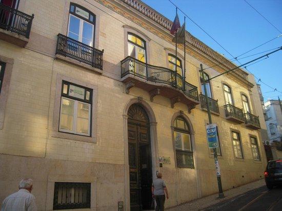 Go Hostel Lisbon: Façade