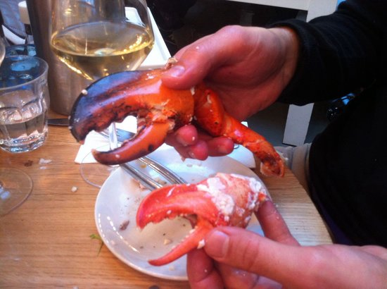 The Seafood Bar : The best crab in the world.