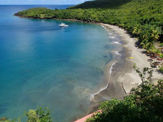 Ti Kaye Resort & Spa : Ti Kaye's beach
