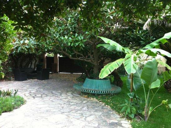 Villa d'Orient : le jardin