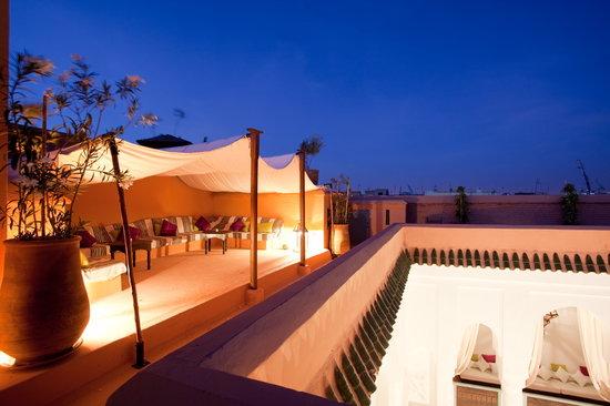 Riad Lalla Bahia : terrasse