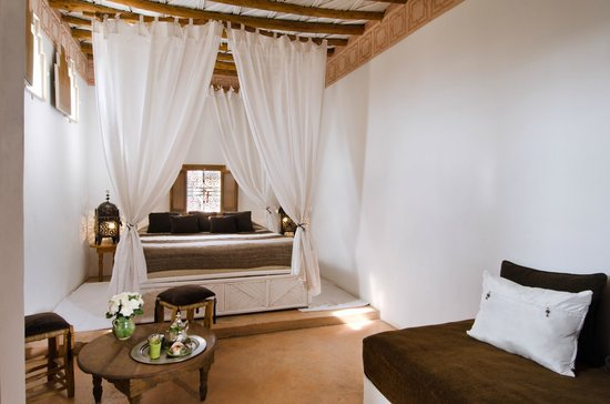 Riad Vert Marrakech: Suite Lit à Baldaquin