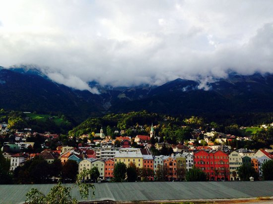 Basic Hotel Innsbruck: View from our room