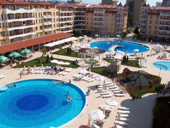 Pools picture of royal sun apartments sunny beach - Sunny beach pools ...