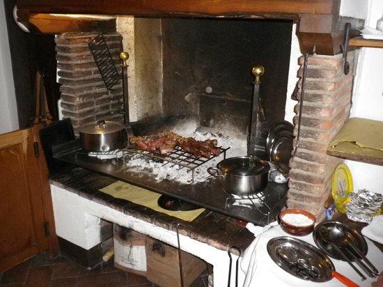 Montefioralle, อิตาลี: Chianina alla brace