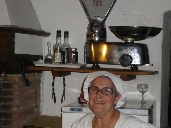 Montefioralle, อิตาลี: L' istituzione in cucina
