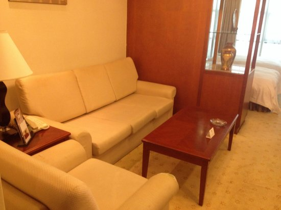 Metropark Hotel Shenzhen: Living rm