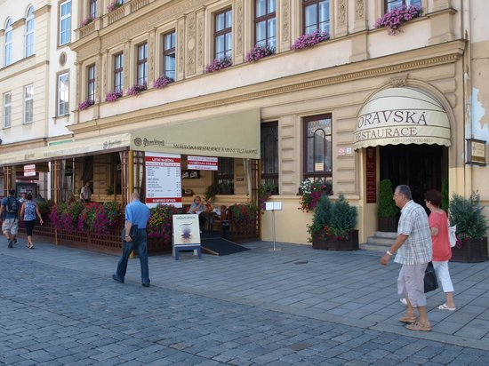 Moravska Restaurace : August 2013