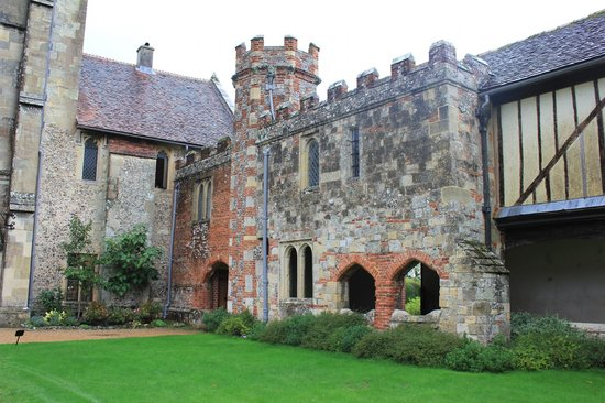 Hospital of St Cross: In the courtyard