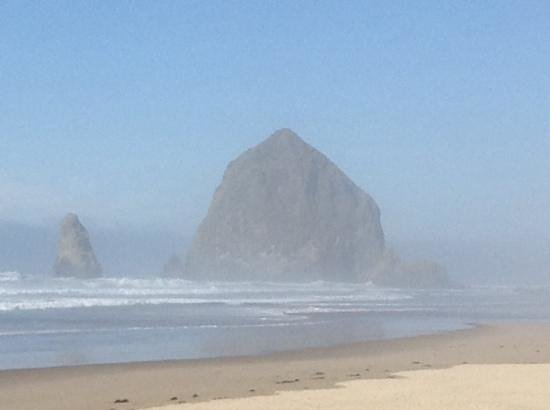 haystack rock from the Stephanie Inn