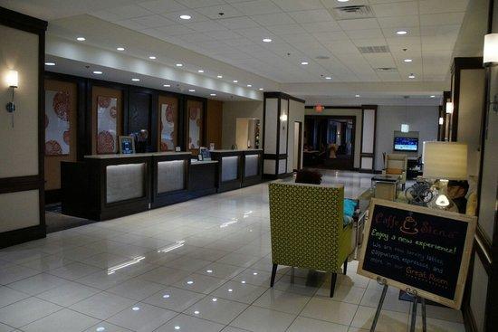 Huntsville Marriott at the Space & Rocket Center: New Lobby!