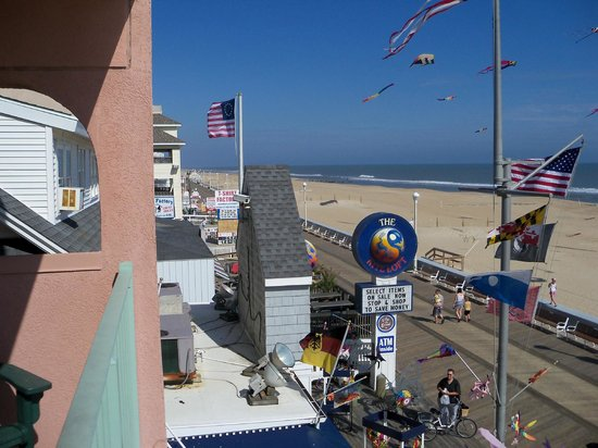 Comfort Inn Boardwalk: View from the balcony of room 306