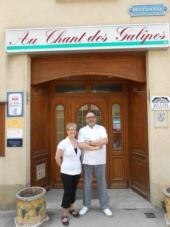 Au Chant des Galipes: Philippe et Laëtita