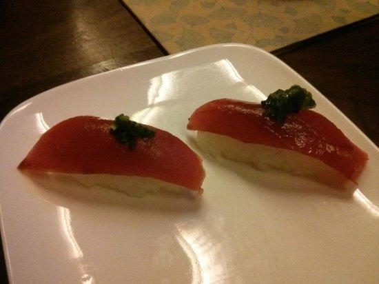 Uchiko: Maguro with a twist