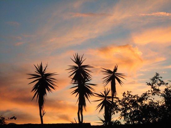 Casa Atelier Juan Iacaruso: Sonnenuntergang in Paraty