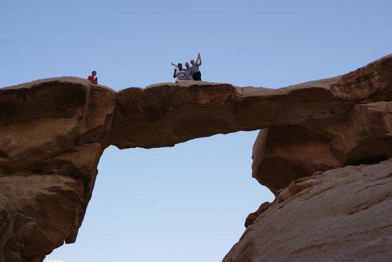 Mohammad Mutlak Camp: Rock Bridge
