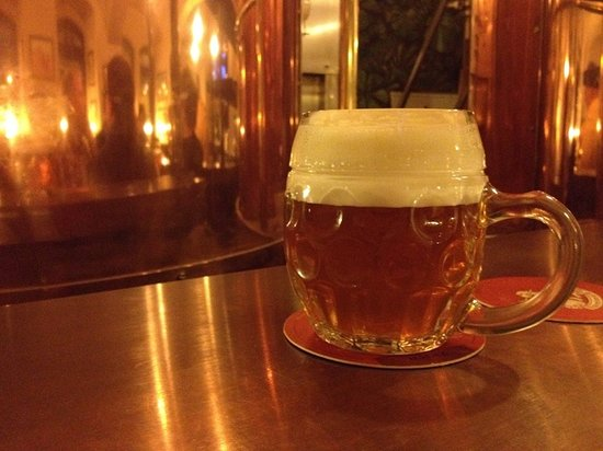 Beer Prague - walking brewery tours: Czech micro-brewed beer