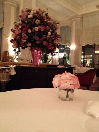 Hotel Cipriani Restaurant: Super chic!