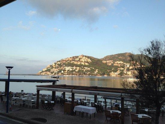 Hotel Brismar: Aussicht beim Frühstück