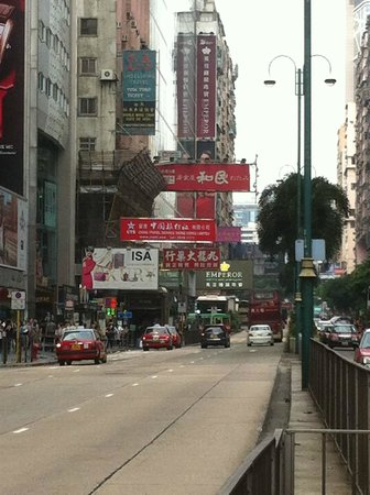 The Kowloon Hotel: Nathan road