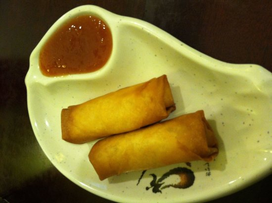 Osaka : Two delicious spring rolls (for $1.99!) served with a homemade sweet and sour sauce.