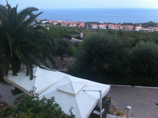 Hotel Ristorante Brancamaria: Vista dalla camera