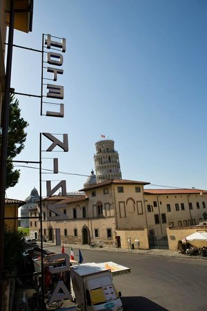 Hotel Villa Kinzica : Great location and close to the Leaning Tower