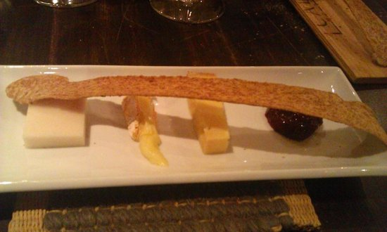Chef & Sommelier: Cheese plate