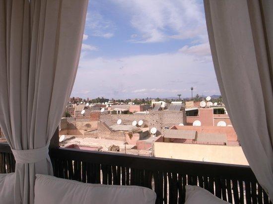 Riad Kheirredine: Vue de la terrasse du Riad