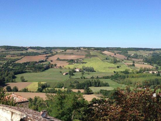 Logis Sur Ciel: View from Chambre Aleinor