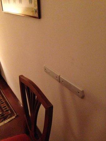 Quattro Fontane Hotel : ci tengono al muro