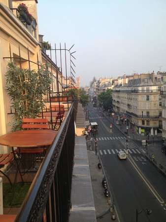 Hotel Paris Rivoli: View