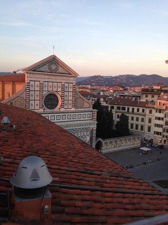 Grand Hotel Minerva: vista da cobertura do hotel