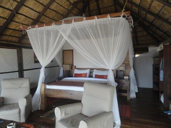 Saadani Safari Lodge: Our bungalow